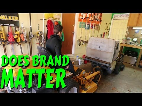 Does Brand Of Lawn Mower Matter? Mike Andes Visits The Shop
