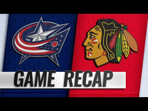 Blackhawks roll to 4-1 win against Blue Jackets