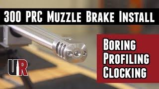 300 PRC Custom Build: Benchmark Tactical Brake Machining and Install