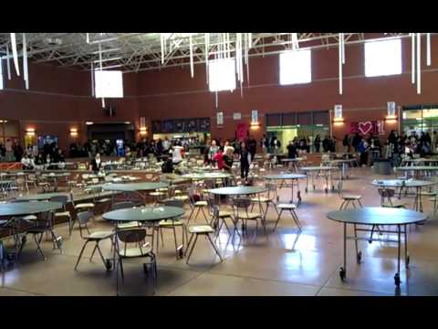 Gallup High School After Food Fight Thursday 5 12 11