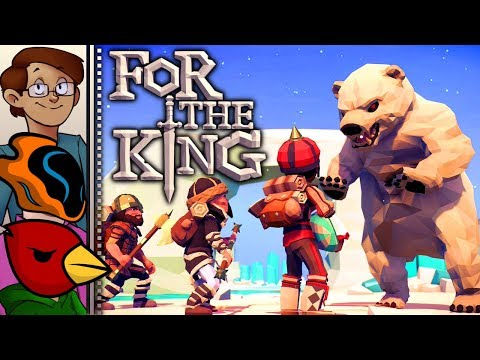 Let's Try For The King Co-op - JRPG Meets Multiplayer