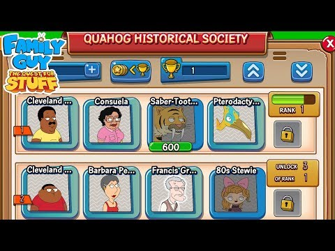 Family Guy: The Quest For Stuff - Earn Old Characters With This New Feature