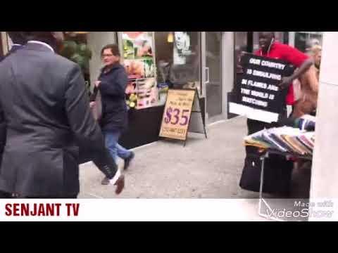 Urgent : Macky Sall et Sidiki Kaba humiliés dans les rues de New York par des sénégalais