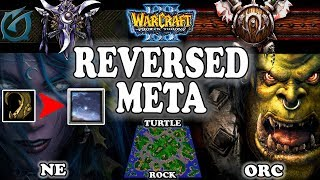 Grubby | Warcraft 3 TFT | 1.29 | NE v ORC on Turtle Rock - Reversed Meta