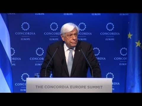 Concordia Europe Summit in Athens Highlight: H.E. Prokopios Pavlopoulos