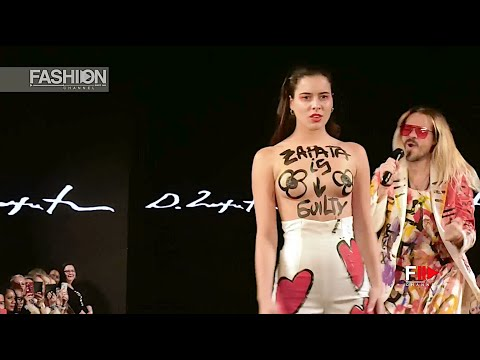DOMINGO ZAPATA NYFW Art Hearts Fashion Fall 2020 New York - Fashion Channel