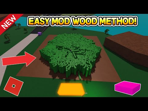 How To Make Mod Wood! (New Method!) Lumber Tycoon 2 ROBLOX