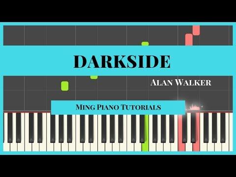 Darkside - Alan Walker (Free Midi Sheets) Piano Cover Tutorial (Ming Piano Tutorials) Synthesia