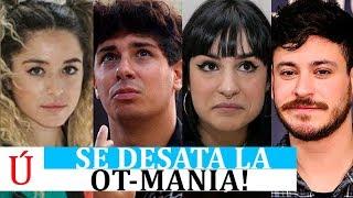 Natalia, Mimi, Cepeda o Alfred toman las calles después de Operación Triunfo por Carnavales