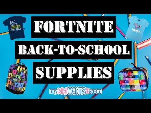 The Hottest Fortnite Back-to-School Supplies for Kids - Backpacks, Lunch Boxes, Shirts and More!