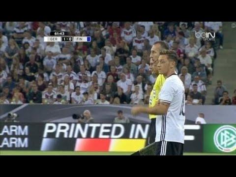 Mesut Ozil vs Finland Home (31/08/2016) HD 720p By OG2PROD
