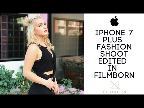 iPhone 7 Fashion Shoot/ How I edit using Filmborn / Saguaro Hotel Palm Springs