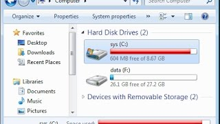 How to clean the local disk-C when it is full   MUST WATCH