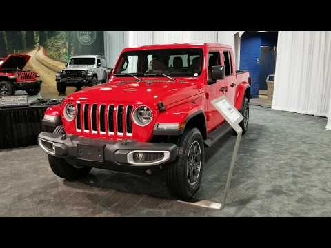 2020 Jeep Gladiator Overland 4x4 Review