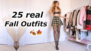 25 Realistic Fall Outfit Ideas | Casual & Dressy