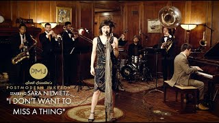 I Don't Want To Miss A Thing  Aerosmith (1920s Brass Band Cover) ft. Sara Niemietz