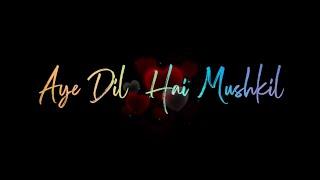 Mujhe Aazmaati Hai Teri Kami Status 🥰 New Female Version Status 😍 Aye Dil Hai Mushkil Song Status