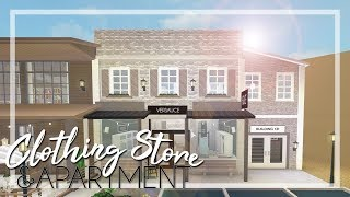 Welcome To Bloxburg Clothing Store Apartment Town Series Pt 2