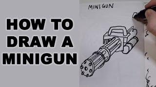 How to Draw a Minigun