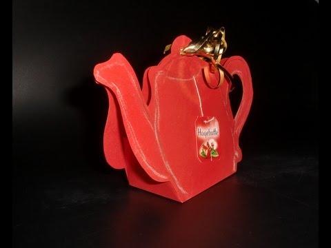 teapot-paper-art:-teekanne-aus-papier---bastelvorlage-[hd/deutsch]