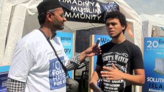 What do Youth think? @ Leamington Peace Festival 2014