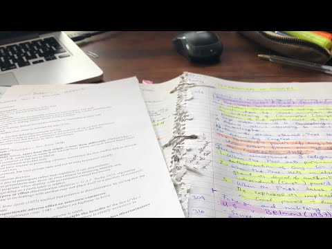 Study with me - Law School Revision 2