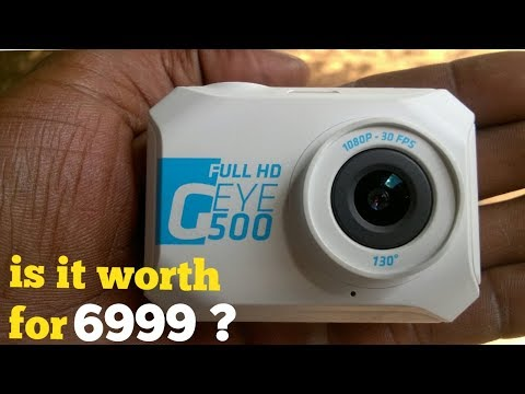 Unboxing : Geye 500 action camera full HD