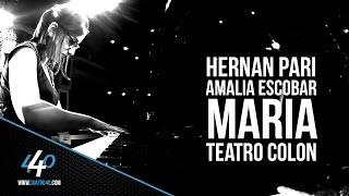 María - Hernán Pari / Amalia Escobar