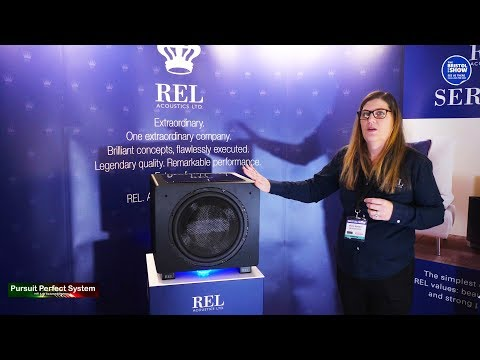 REL Acoustics NEW 2019 Subwoofers look at the full Line up @ Bristol HiFi Show 2019