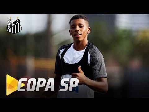 MENINOS DA VILA FINALIZAM PREPARAÇÃO PARA A COPA SP 2019