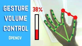 Gesture Volume Control | OpenCV Python 2021 | Computer Vision