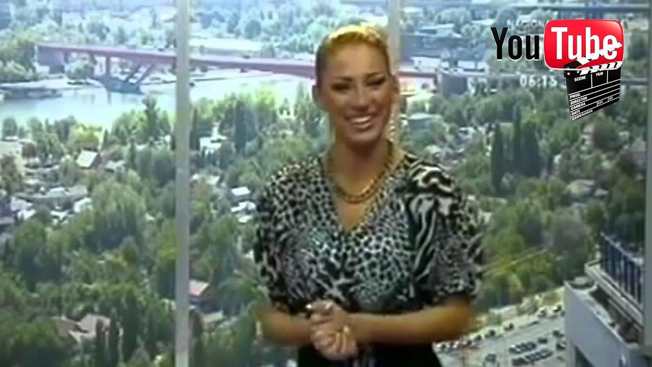 Pijana Voditeljka Na Tv Happy [HD] - YouTube