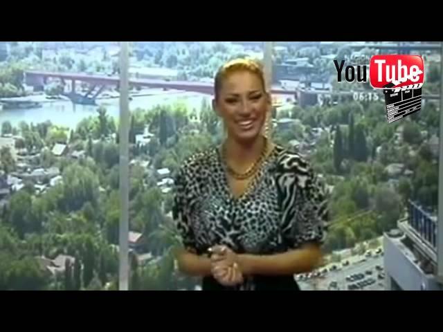 Pijana Voditeljka Na Tv Happy [HD]