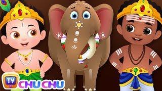 ஆனை ஆனை அழகர் ஆனை (Aanai aanai alagar aanai) - ChuChu TV Tamil Rhymes for Children