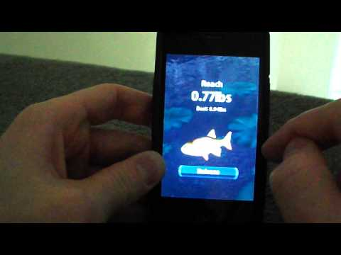 IOS App Review - Flick Fishing