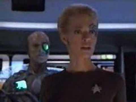 Voyager star trek drone