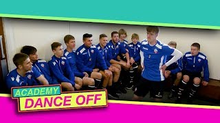 The Bolton Wanderers Academy throwing absolute shapes in the Total Tekkers Dance Off