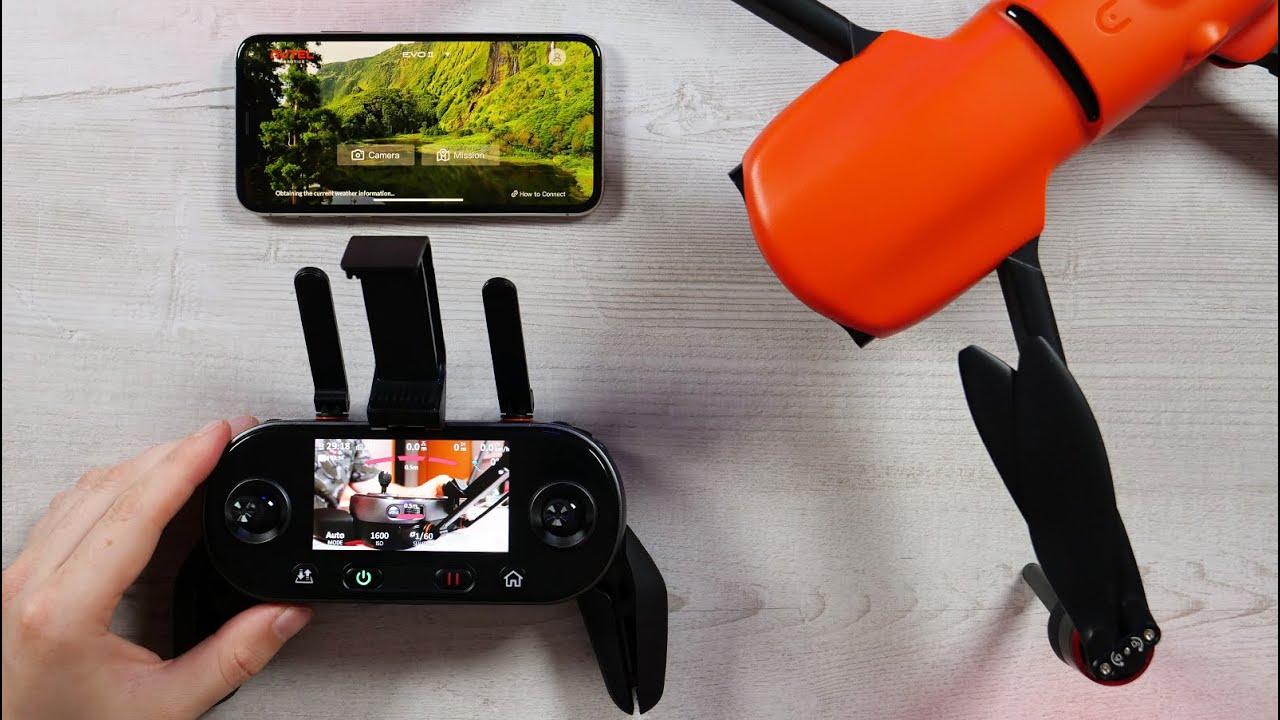Autel Evo II 8K - Einstellungen am 3,3 Zoll Oled Display & Überblick Explorer App - Teil 2 - Deutsch