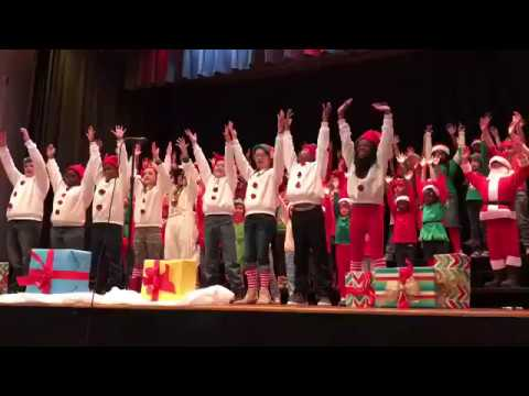 The Elves' Impersonator at Barnwell Primary