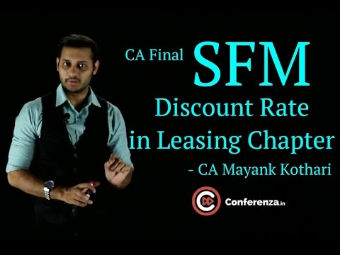 Discount rate to be used in Leasing Chapter