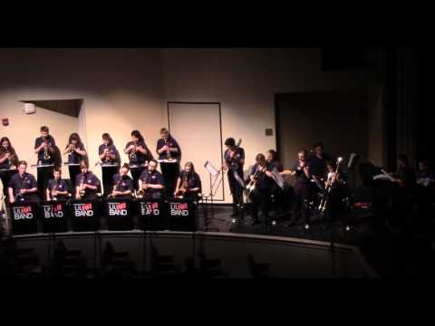 Triadelphia Middle School Jazz Band Christmas 2015