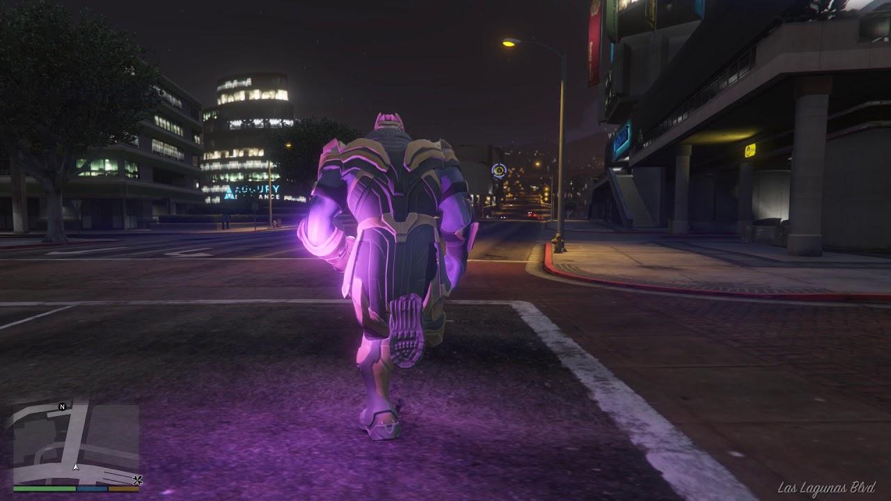 GTA 5 Thanos Snap fingers