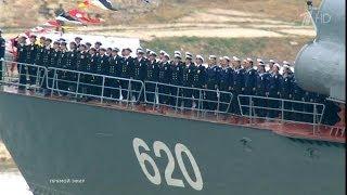 Военно-морской парад 9 мая 2014 года из Севастополя / HD 1080p (Парад Победы)(Военнo-морской парад из Севастополя, посвященные 69-й годовщине Победы в Великой Отечественной войне 1941-1945..., 2014-05-10T08:45:34.000Z)