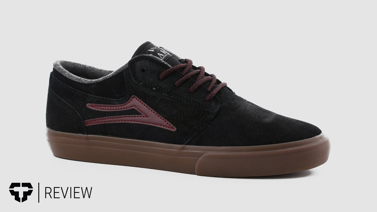 780954e4f2a956 Lakai Griffin Weather Treated Skate Shoes Review - Tactics.com - YouTube