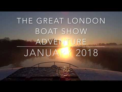 The Great London Boat Show Adventure 2018