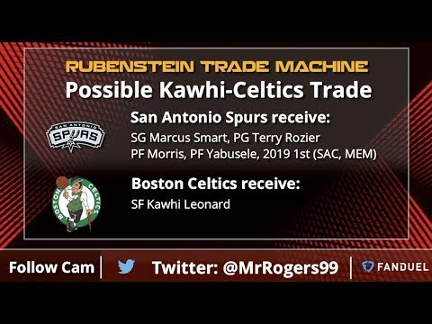 NBA Trade Rumors: Kawhi To Celtics, Clippers Trading Up In NBA Draft & Raptors Blow It Up