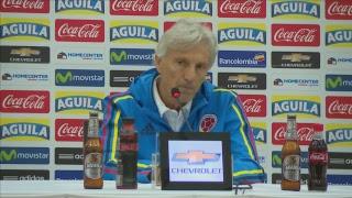 ¡Vea la rueda de prensa con José Pékerman, en la antesala del juego Colombia vs. Paraguay!