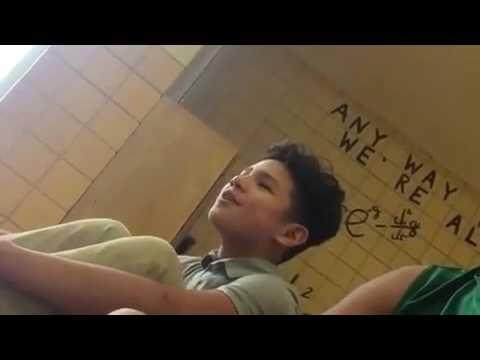 Manny sings A Partir de Hoy💗🎵