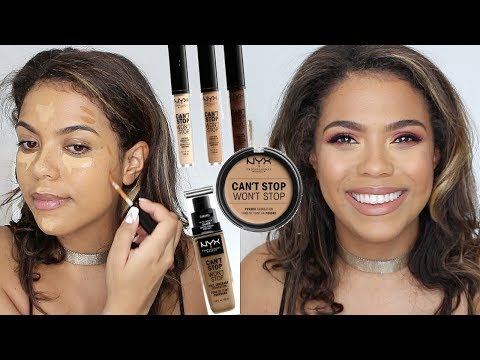 NYX Can't Stop Won't Stop Concealer - Full Face Of NYX!