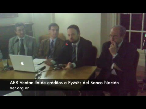 La Asociación Empresaria, ventanilla de créditos a PyMEs del Banco Nación de YouTube · Duración:  2 minutos 43 segundos